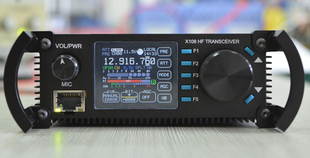 CQXIEGU X108 transceiver QRP HF