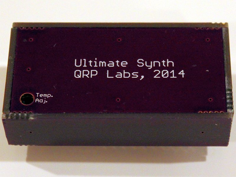 Synthetiseur Si5351 à OCXO QRP Labs G0UPL