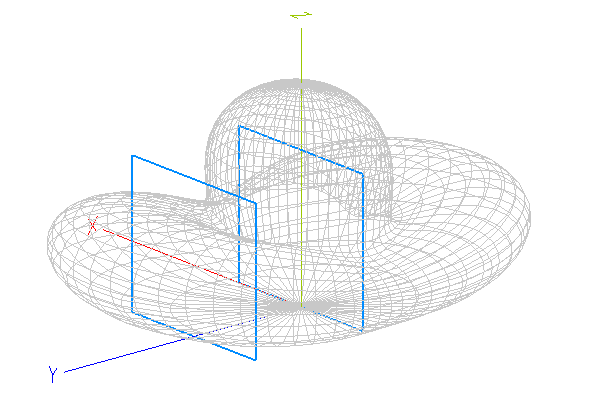 Yagi repliée K4RVNgain en 3D