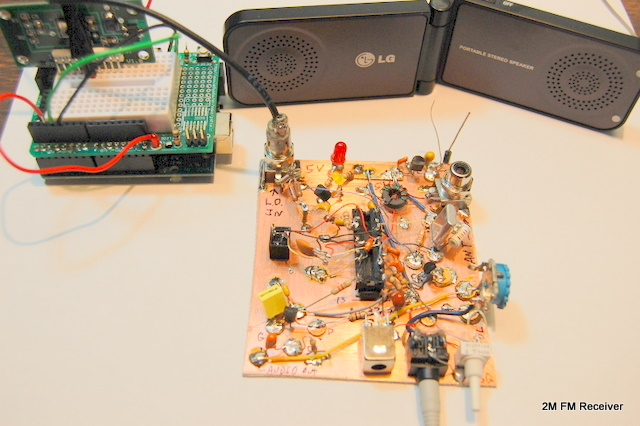 Récepteur VHF WA5BDU