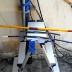 Radôme et éléments demi-onde 1090 MHz ADS-B