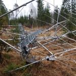 Gros dégâts sur les antennes de Tonno ES5TV