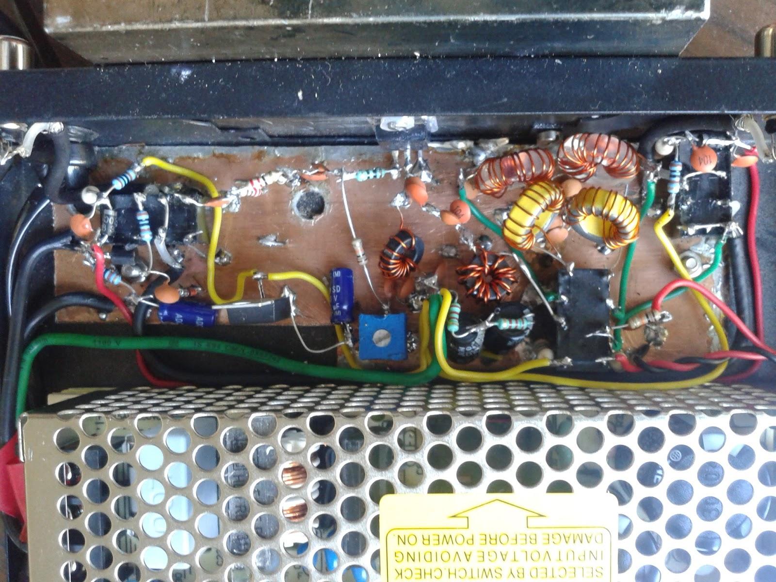 VU2ESE - Amplificateur linéaire 25W IRF510