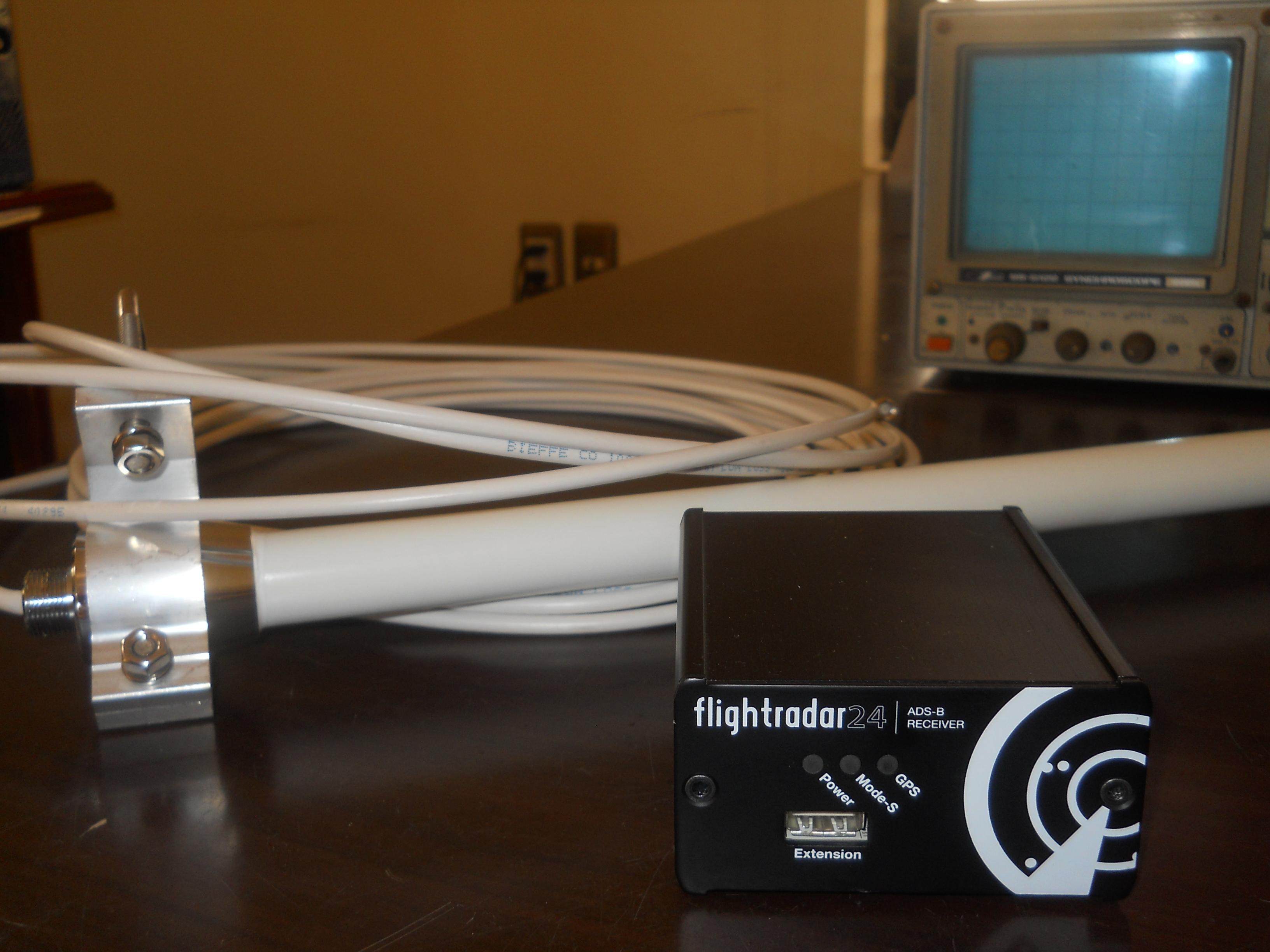 Kit récepteur antenne FlightRadar24