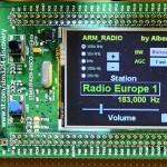 ARM Radio par I2PHD : un récepteur SDR 8-900KHz à échantillonnage direct