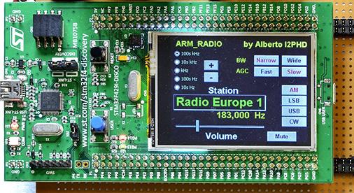 ARM Radio par I2PHD réception Europe 1
