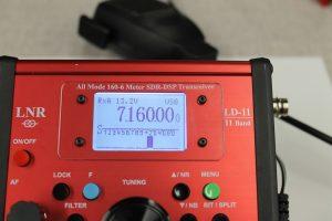 QRP HF SDR transceiver