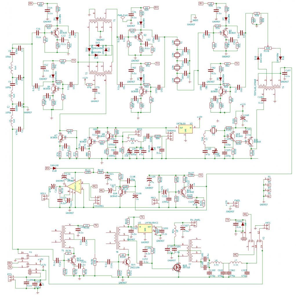 Bitx40 schéma VU2ESE